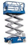 new genie scissor lift access platforms available for hire long term or sale